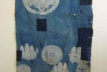 patch bleu moderne