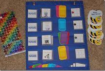 Pinterest job chart ideas for classroom- preschool, kindergarten
