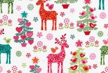 Christmas craft ideas and fabric