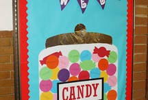 Candy land Theme classroom