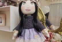 Bonecas de pano por Atelier Ju Domingues / Minhas criações em bonecas de pano