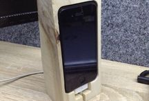Wood iphone 4s stand / Wood stand for iphone 4s