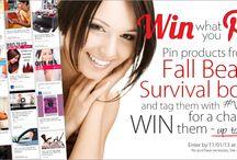 Fall beauty survival board / #Vitaglam / by Nichole Smith