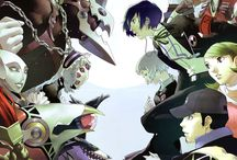 Shin Megami Tinsei / Game art