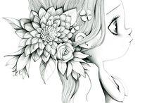 * Dibujos *
