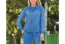 Comfortable Clothing / Wearing comfortable clothing shouldn't mean wearing daggy old clothes, you can find elegant and stylish leisure wear and sleepwear in our clothing range made specifically for comfort and everyday living.