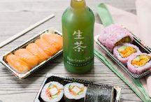 Japan Centre sushi / Our sushi is made fresh every morning by our team of highly skilled chefs.
