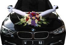 bunga rias mobil