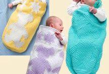 Kisbabáknak / kötés horgolás varrás