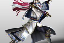 Samurai warrior game
