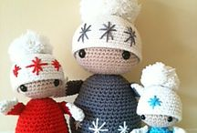 Christmas Crochet Dolls