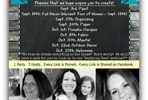 Linky Parties I Love / These are some linky parties that I love to participate in, and have had great success with...