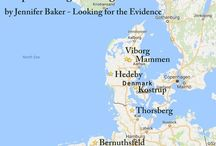 Archaeological find spots of Viking era clothing