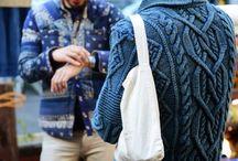 Fashion knitting men / Knit mens