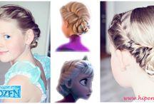 Hip en Haar ( haar tutorials) / hairstyles voor prinsesjes
