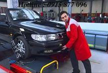 Kiểm tra góc bánh xe ô tô