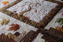 Prachtige herfst quilt