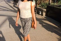 Summer Street Style / Summer fashion ideas from the streets of India for petite girls.
