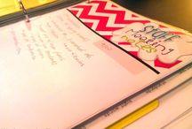 Planners / Teachers folder