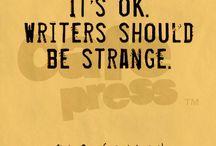 writer-y thingies.