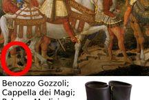 calzature storiche / repliche di calzature da iconografie