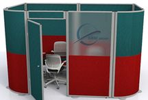 Acoustic Pods / Acoustic Office Pods are the ideal acoustic office furniture solution that provide private space ideal for private offices to corporate training areas within any modern open plan office.