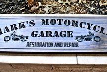 Motorcycle/Garage Signs/ Man Cave sings / Motorcycle/Garage Signs/ Man Cave sings