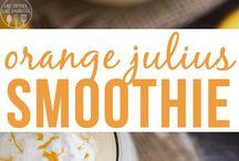 Drinks/milkshakes/smoothies