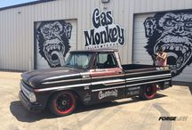 65 chevy pickups / by Aj Kendell