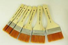 Brochas Pinto / Brochas de pelo de camello, cerda y sintético