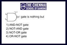 Computer Awareness / Logical gate #thechennischoolofbanking