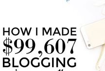 Blogger Income Reports / Many bloggers share how they make their money. If you're thinking about starting a blog, reading blogging income reports is a great way to get inspired and stay motivated.