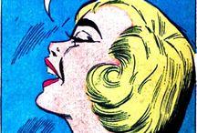 Vintage Comics & pulp / Vintage comics , cartoons , pop art and pulp www.lucymaddison.com @maddycartoons
