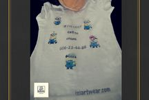 T-shirt for my little sweetie / Artist t-shirts