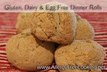 Gluten free, egg free, diary free