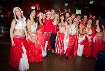 #Natale 2013 / Una festa meravigliosa con una esibizione di #danza del ventre a tema natalizio!