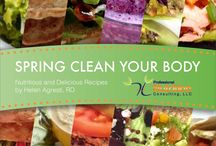 E-Cookbooks // Professional Nutrition Consulting, LLC / Easy family friendly meals with a healthy balance of carbohydrate, protein, fat, and fiber!