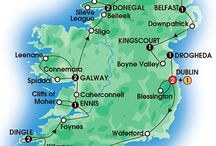 2016 Ireland Tours (10-15 days) / To find your ideal vacation, browse our comprehensive selection of guided coach tours to Ireland that vary in length from 5 - 15 days. Choose value-for-money first class programs, splurge with deluxe properties or find something in between. / by CIE Tours International