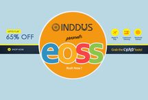 EOSS - End Of Season Sale / Shop the seasons best selling styles of Sarees, Salwar Suits, Lehengas, Kurtis, etc at amazing prices in our end of season sale. https://www.inddus.com/end-of-season-sale-online.html