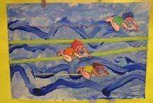 schilderen kunst met kinderen