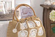 Kötött-horgolt táskák