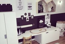 Playroom nook area