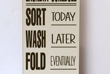 Laundry Room Re Dos / by Ashley Weigl