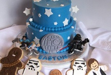 Harry and Christopher's star wars party