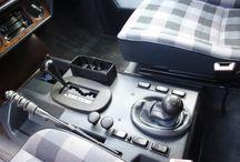 Mercedes G280 interior