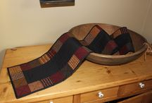 Quilted table runners / Table runners