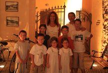 A few guests of B&B centrostorico / immagini di alcuni ospiti del b&b centrostorico Sarnico sul Lago d'Iseo Lombardia-Italia