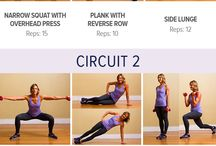 Fitness Workouts / Different types of Workouts