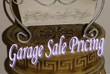 All About Garage Sales / Everything you need to know about having a garage sale, buying and selling at garage sales etc. / by Mr.CBB CanadianBudgetBinder