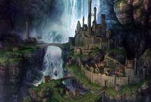 Lugares / Imágenes de localizaciones de fantasía.